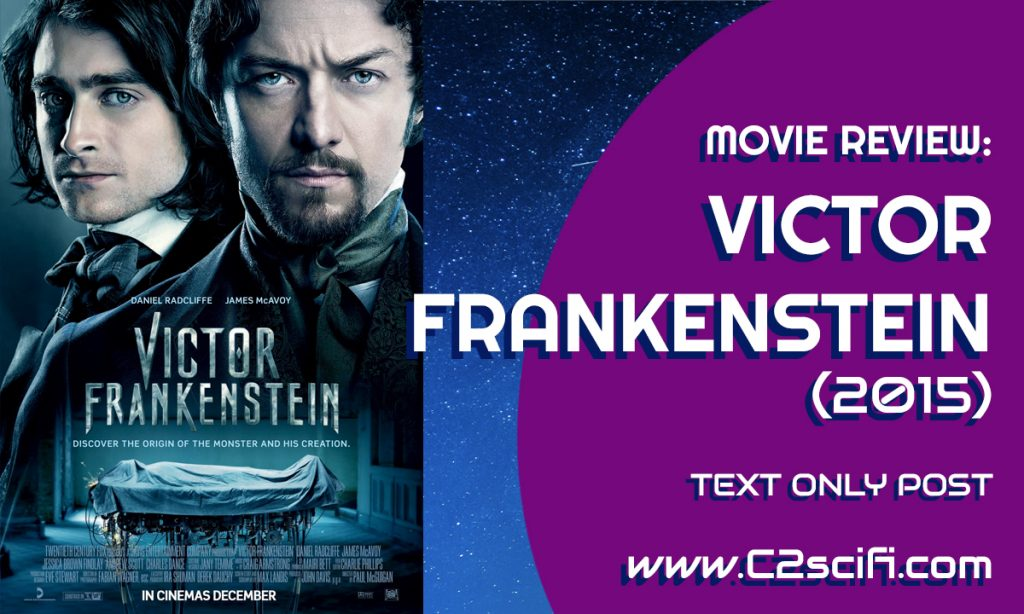 Review Victor Frankenstein 2015